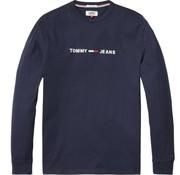Tommy Hilfiger longsleeve t-shirt navy (DM0DM05331 - 002)