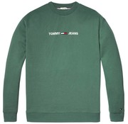 Tommy Hilfiger sweater relaxed fit groen (DM0DM05147 - 396)