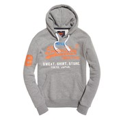Superdry hooded sweater grijs (M20032PQ - NY4)
