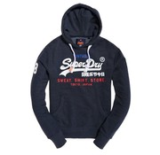 Superdry hooded sweater navy (M20032KQ - MK8)
