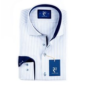 R2 Amsterdam overhemd oxford streep (100.WSP.23 - 014)