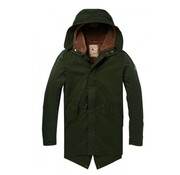 Scotch & Soda Parka Teddy Line Army (145193 - 0548)