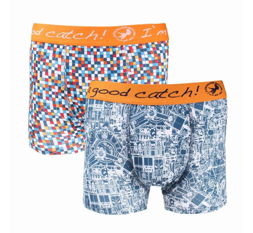 2pack boxershorts Multicolor (83.254)