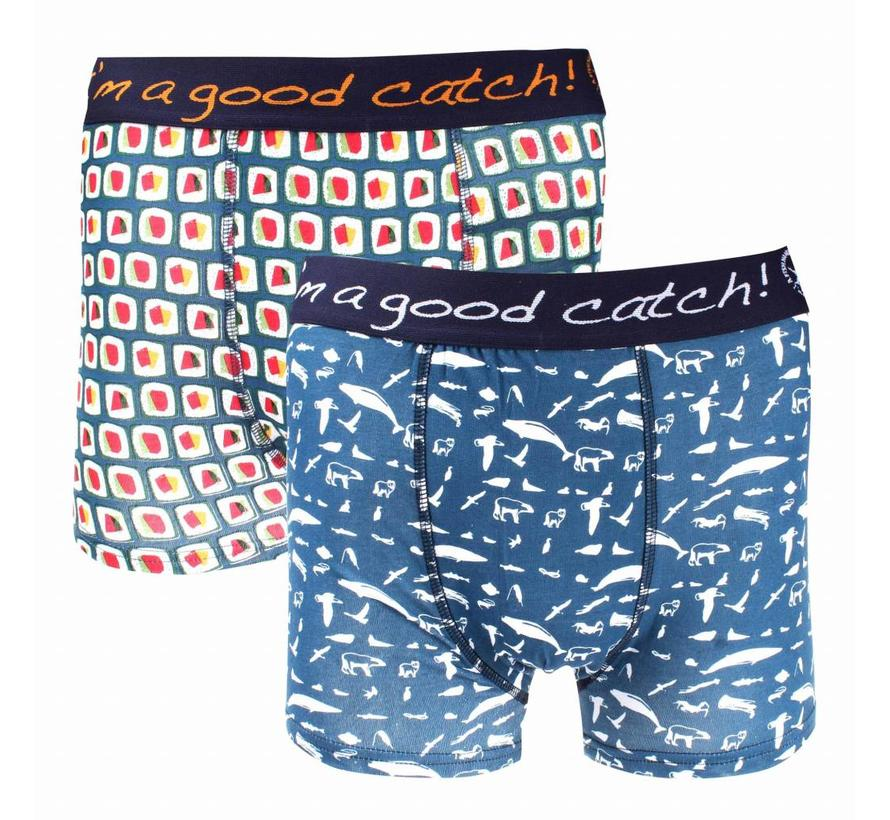 2pack boxershorts Multicolor (83.255)