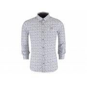New Zealand Auckland overhemd Kaniere off white (18KN541 - 40)