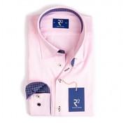 R2 Amsterdam overhemd roze (95.HBD.07 - 087)