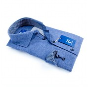 R2 Amsterdam overhemd donkerblauw (95.WSPB.34 - 014)