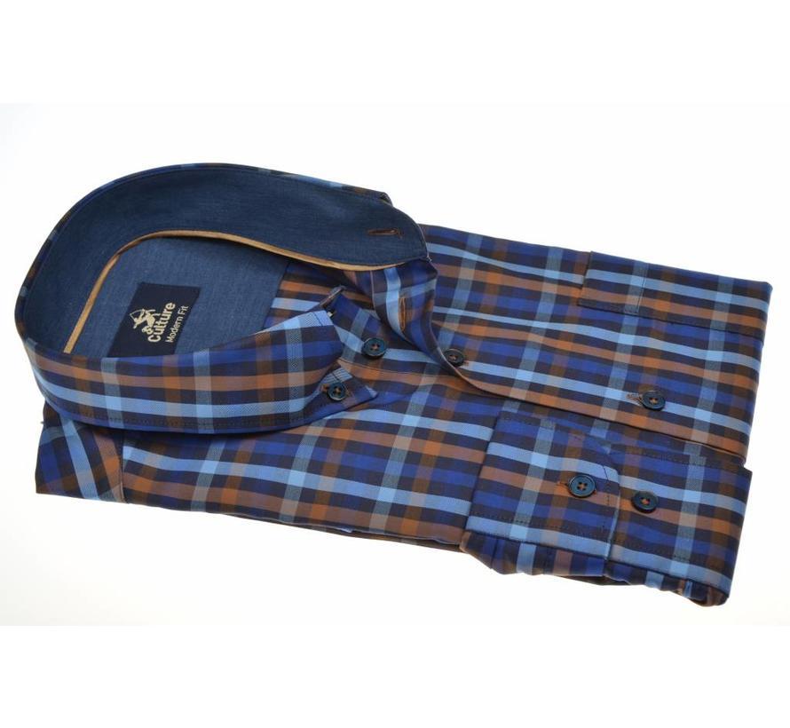 overhemd ruit modern fit (513666 - 39)