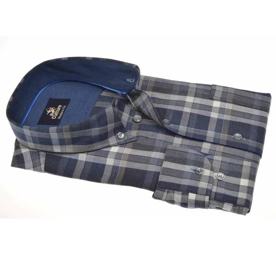 overhemd modern fit ruit (513668 - 37)