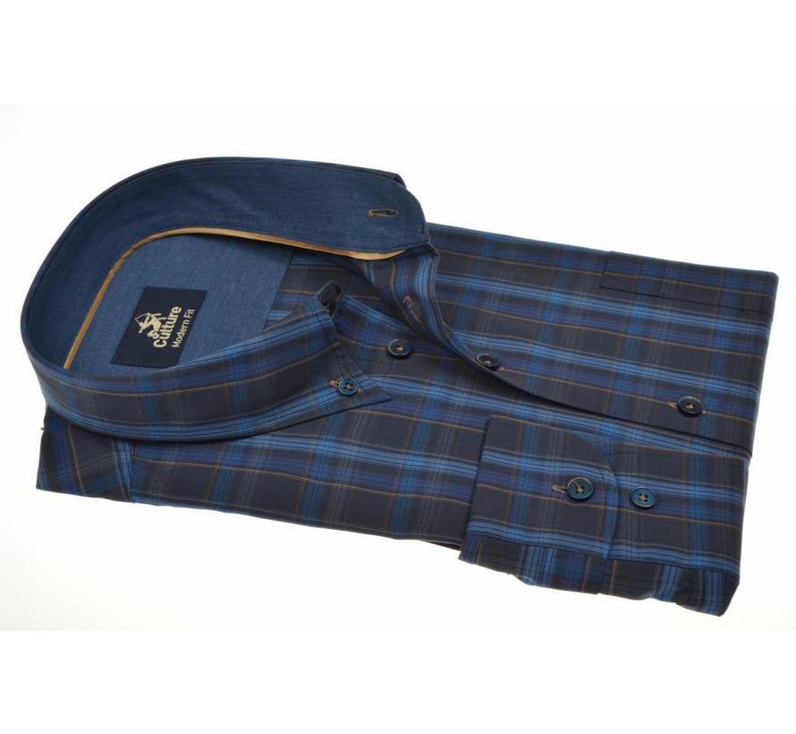 overhemd ruit modern fit (513670 - 38)