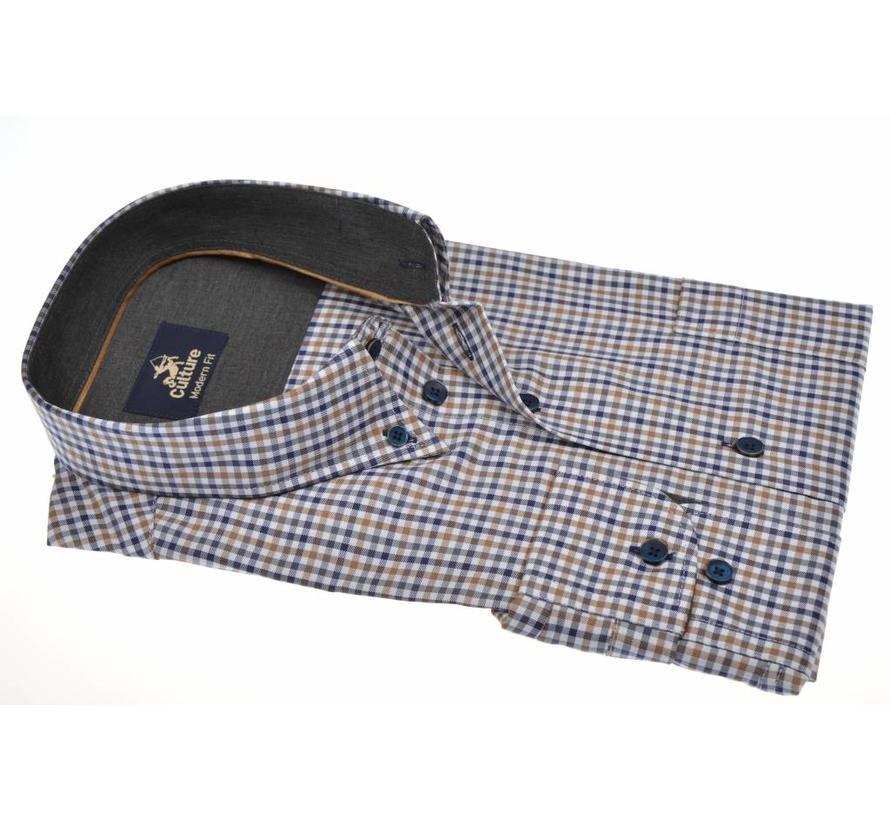 overhemd ruit modern fit (513671 - 44)