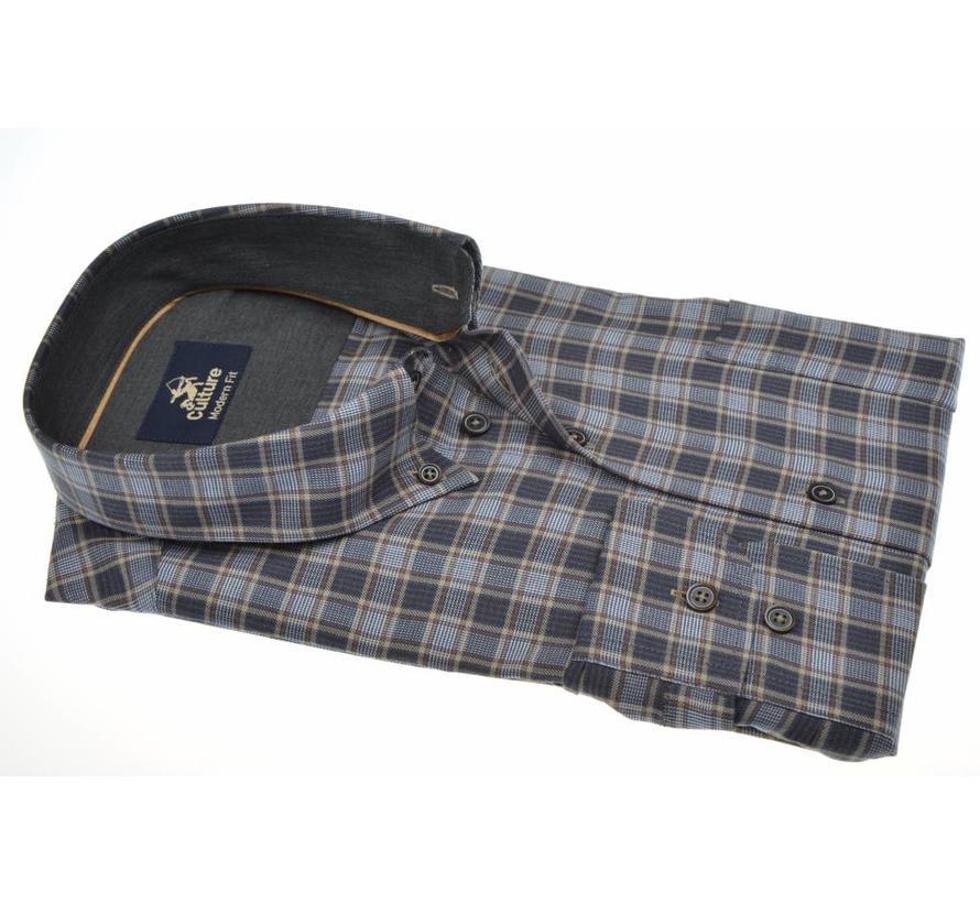 overhemd ruit modern fit (513673 - 17)