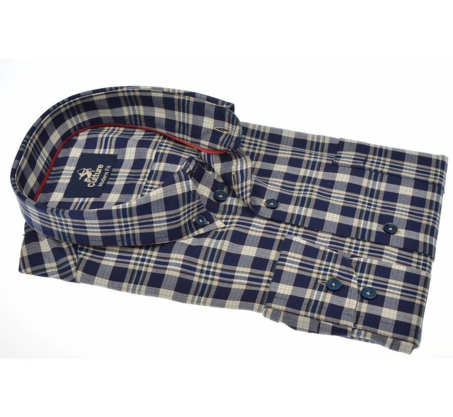 overhemd ruit modern fit (513669 - 39)