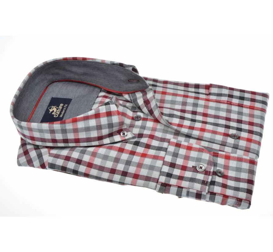 overhemd ruit modern fit (513672 - 85)