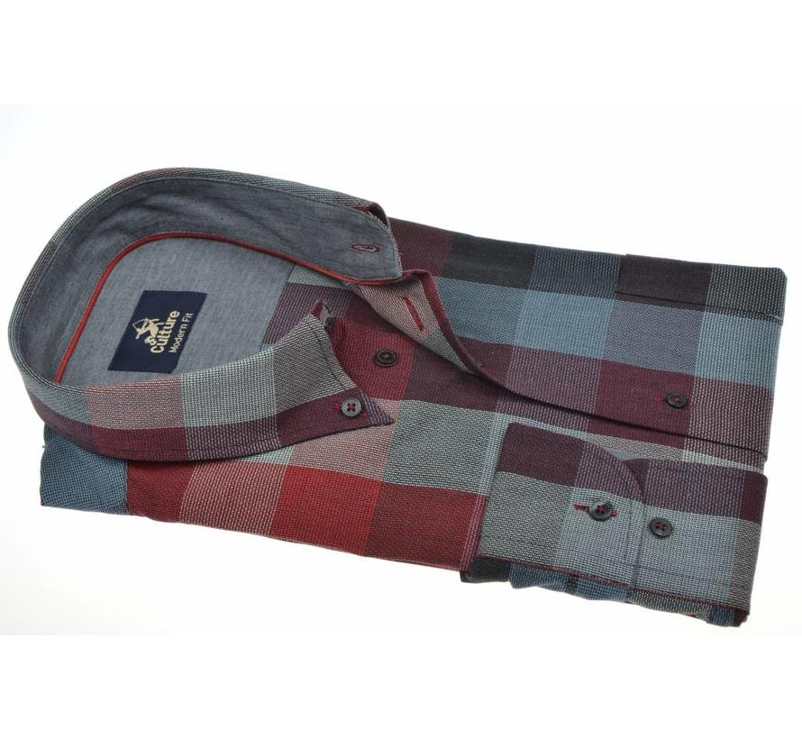 overhemd ruit modern fit (513675 - 85)