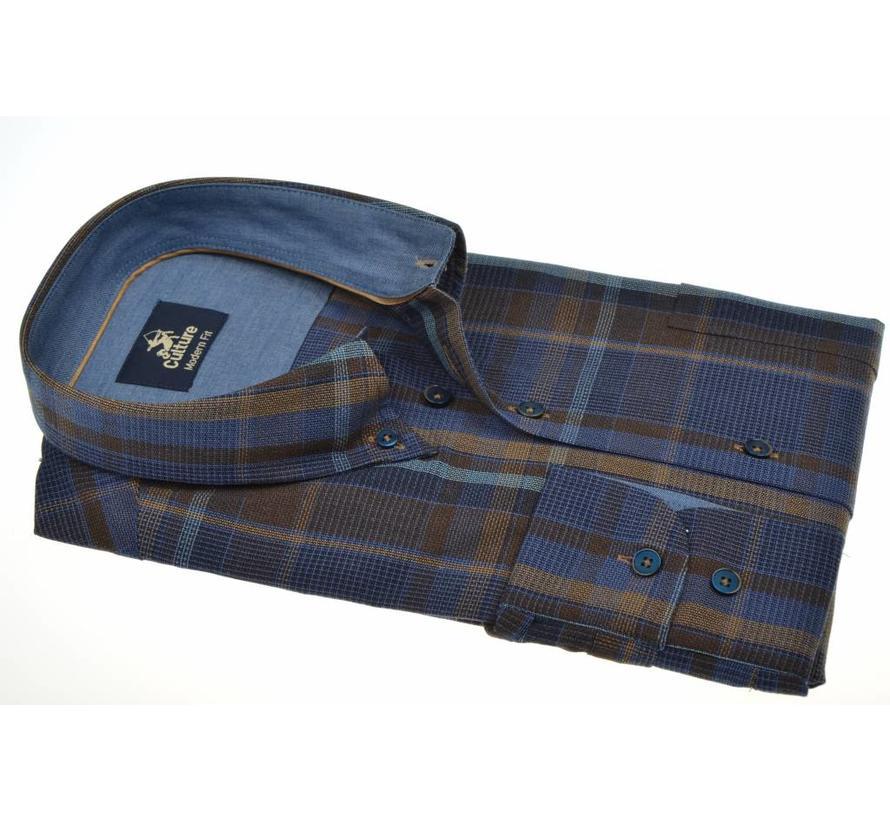 overhemd modern fit ruit (513678 - 38)