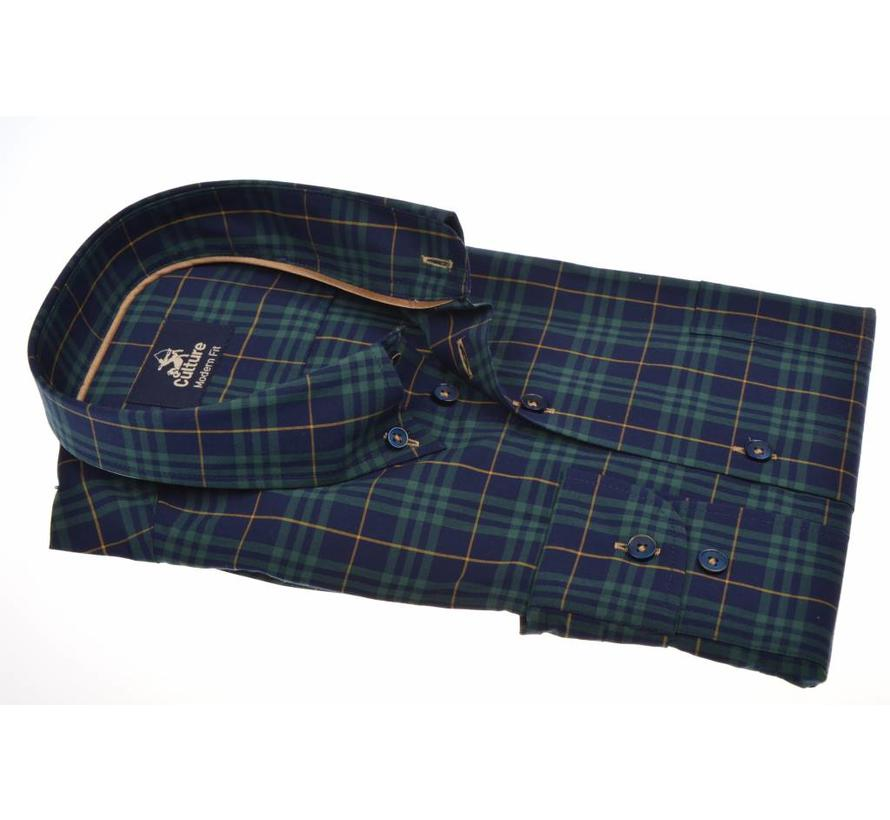 overhemd modern fit ruit (513685 - 39)