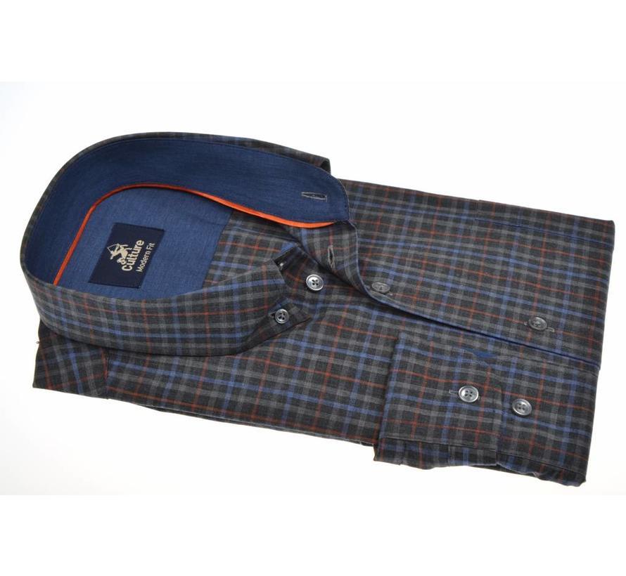 overhemd ruit modern fit (513686 - 19)