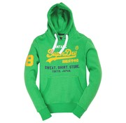 Superdry hooded sweater green marl (M20032PQ - GEE)