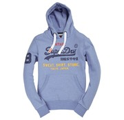 Superdry hooded sweater horizon blue (M20032PQ - NL9)