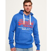 Superdry hooded sweater blauw (M20808PQ - NP9)