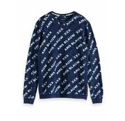 Scotch & Soda sweater Ams blauw (147629 - 20)