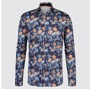 Blue Industry overhemd Navy Bloemenprint (1220.91)