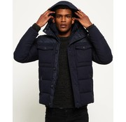 Superdry Tech winterjas navy(M50019YP-11S)