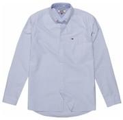 Tommy Hilfiger overhemd streep wit/blauw (DM0DM04995 - 100)