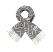 Scotch & Soda sjaal motief grijs (148061 - 0217)
