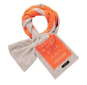 Scotch & Soda sjaal oranje/grijs (145653 - 0217)