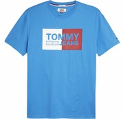 Tommy Hilfiger t-shirt blauw (DM0DM05549 - 423)