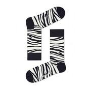 Happy Socks 1pack sokken Zebra zwart/wit (ZEB01-1000)