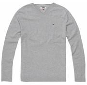 Tommy Hilfiger pullover v-hals grijs (DM0DM04402 - 038)