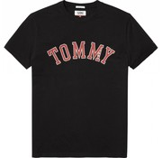Tommy Hilfiger t-shirt regular fit zwart (DM0DM05110 - 078)