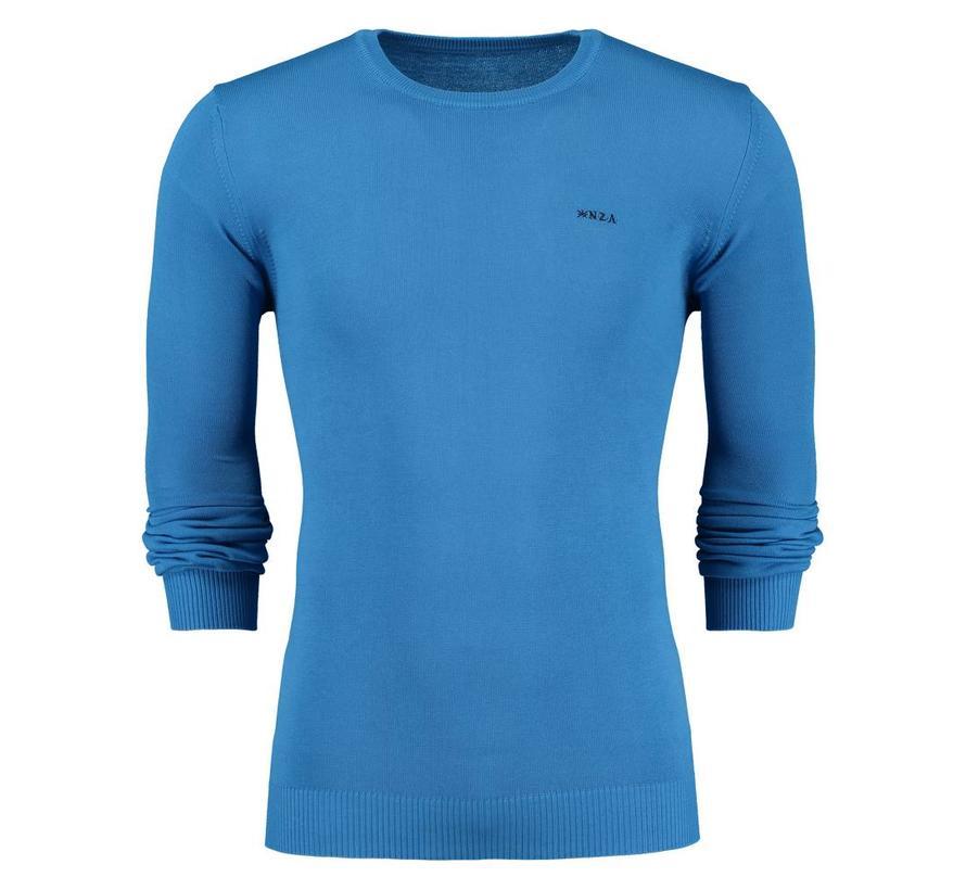 pullover Murchinson blauw (18AN450 - 330)