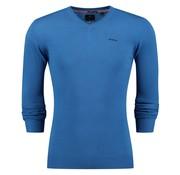 New Zealand Auckland pullover Ngunguru blauw (18AN451 - 330)