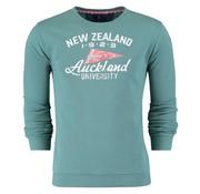 New Zealand Auckland sweater groen (18AN306 - 475)
