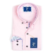 R2 Amsterdam overhemd roze mouwlengte 7 (100.BD.XLS.05 - 088)
