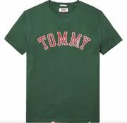 Tommy Hilfiger t-shirt regular fit groen (DM0DM05110 - 396)