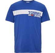 Tommy Hilfiger T-shirt blauw (DM0DM06089 - 434)