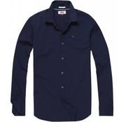 Tommy Hilfiger Overhemd Slim Fit Navy (DM0DM04405 - 002)