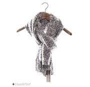 Haze & Finn sjaal Arctic Sky Dark grey (MC10-0908)