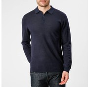 Mc Gregor lange mouw polo Ewan regular fit navy (1000802 - B005)