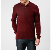 Mc Gregor lange mouw polo Ewan regular fit bordeaux (1000802 - R019)