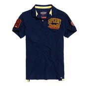 Superdry pique polo Classic Superstate navy (M11008ET - 12S)