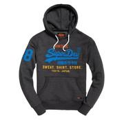 Superdry hooded sweater antraciet/grijs (M20103IT - Z2U)
