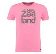 New Zealand Auckland t-shirt Dampier neon pink (18DN702 - 690)