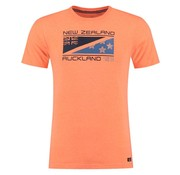 New Zealand Auckland t-shirt Hapuka neon orange (18DN708 - 638)