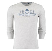 New Zealand Auckland lange mouw t-shirt grijs (18AN781 - 184)